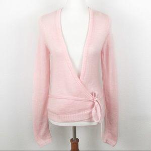 Victoria's Secret Pink Mohair Blend Ballet Sweater